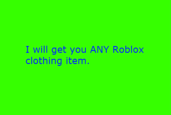 get you any roblox shirt template