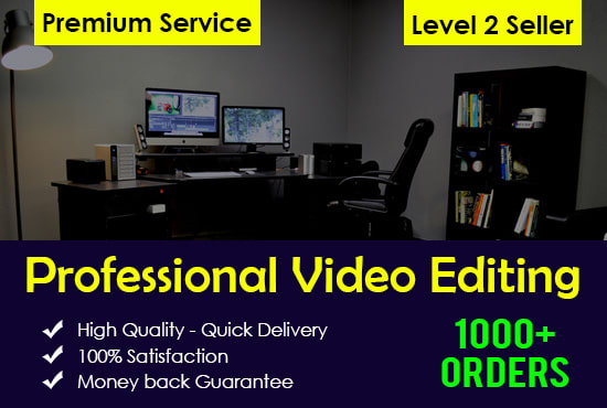 do any video editing and promo video advertisements