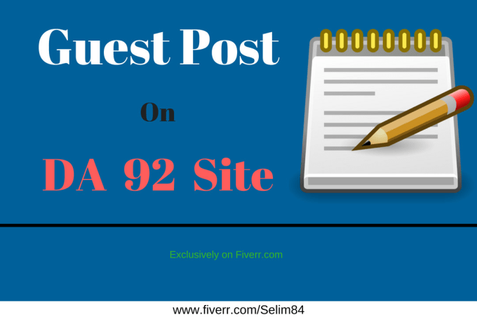 write article and publish on da 93 guest posting site