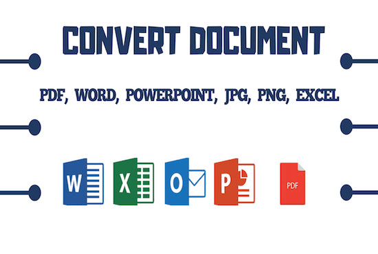 aymiamnah : I will convert doc file to ebook, pdf, html5, word and ppt for  $5 on www fiverr com