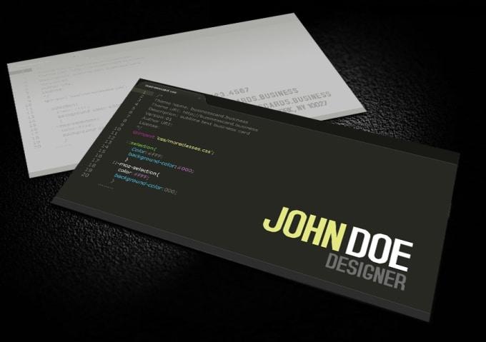 Create nice business cards by dublude create nice business cards colourmoves
