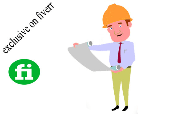 Do Animated Cartoon Video For Construction Consultant By Miragework