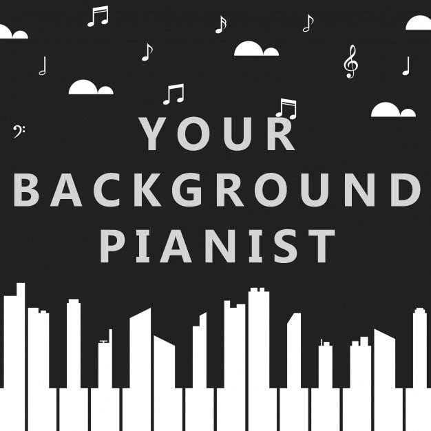 make custom background piano music