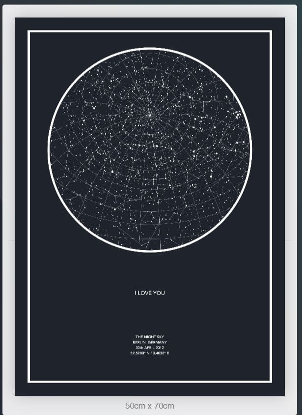 do personalized stars map the real sky of the night you want on star home map, famous star map, red star map,