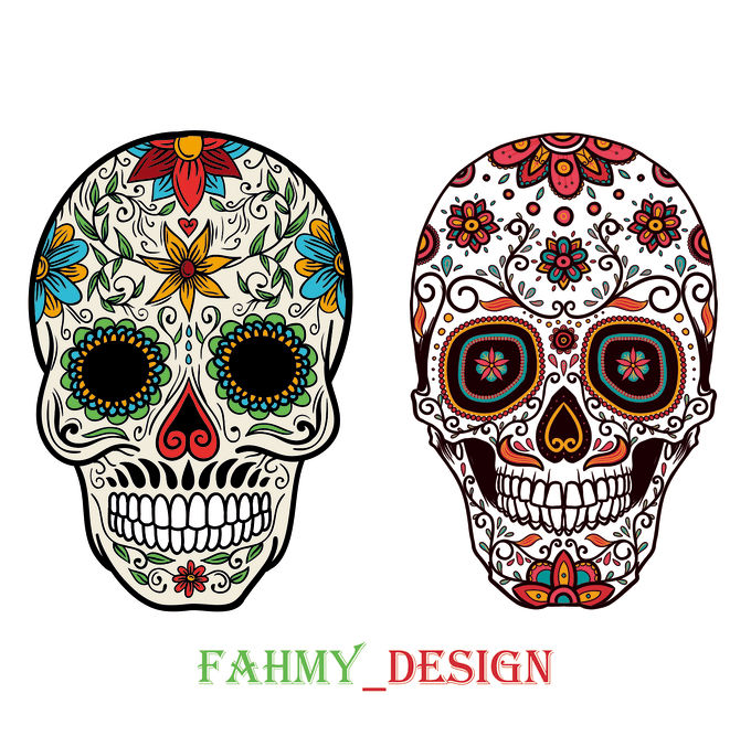 Draw a cool logo skull by Fahmy_design