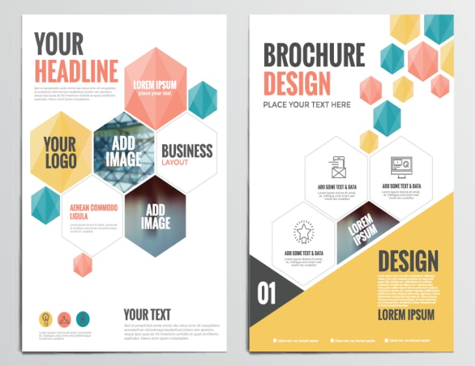 design simple flyers brochures business cards by alihageali