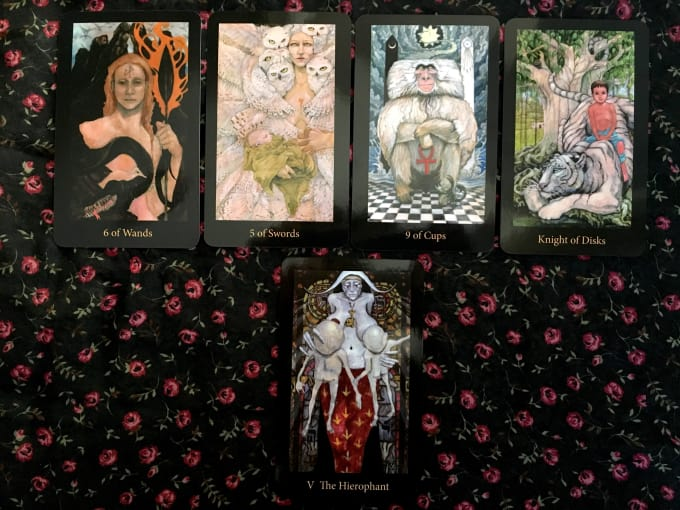 ladyalayne : I will 5 card relationship tarot or cartomancy reading for $10  on www fiverr com