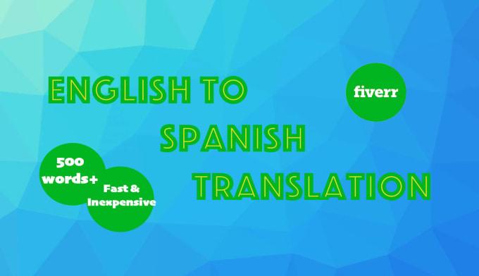 It only makes sense translation spanish