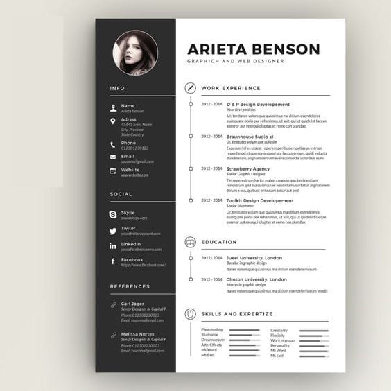 edit write resume  design resume  cv  linkedin by rony6267