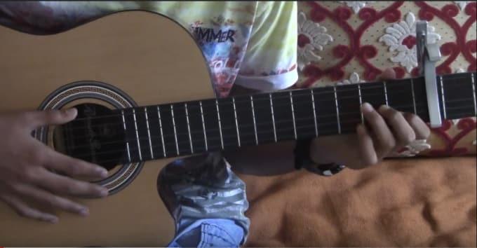 Teach You Basic Or Advanced Guitar Chords By Hamzasanhajir