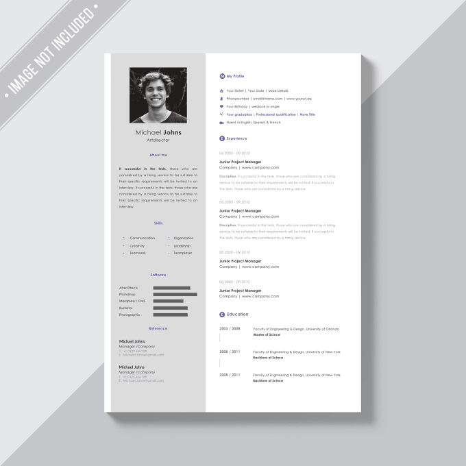 Create Design And Edit Your Resume Cover Letter And Linkedin
