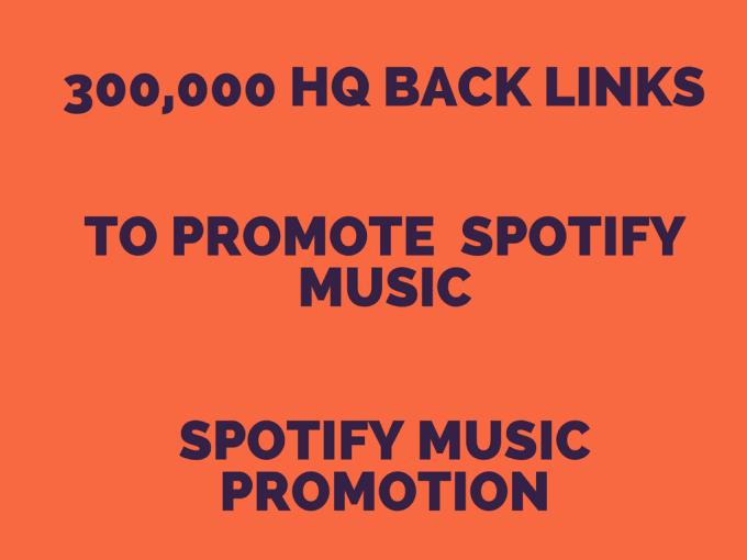 do spotify music promotion