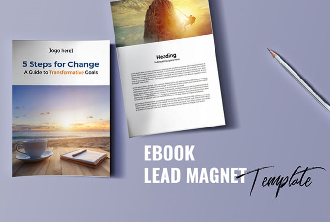 Send you an ebook lead magnet template in word doc format by send you an ebook lead magnet template in word doc format maxwellsz
