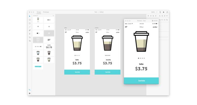 create app and website prototype in adobe xd