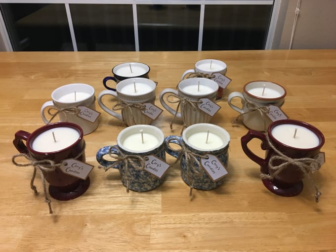 Send You My Candle Making Instructions By Cjblada