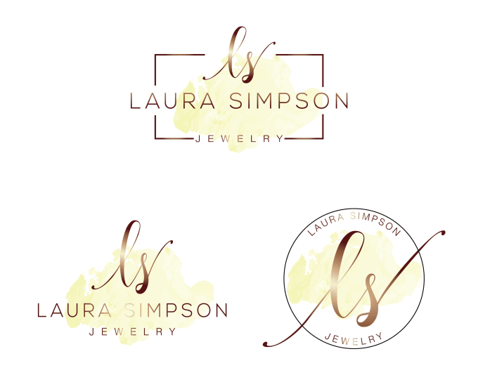 design different styles of watercolor signature logo
