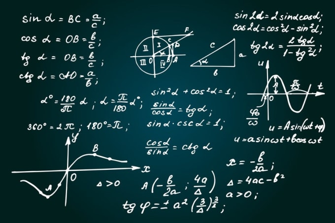 Help you to solve mathematical and chemistry problems by Rosan1