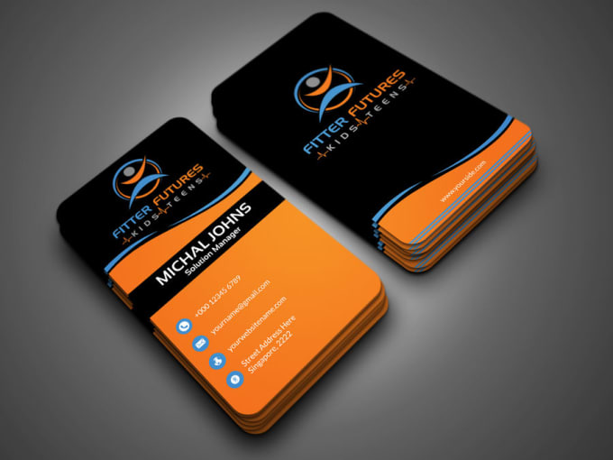 Do eye catching business cards by nadvi9913 do eye catching business cards colourmoves