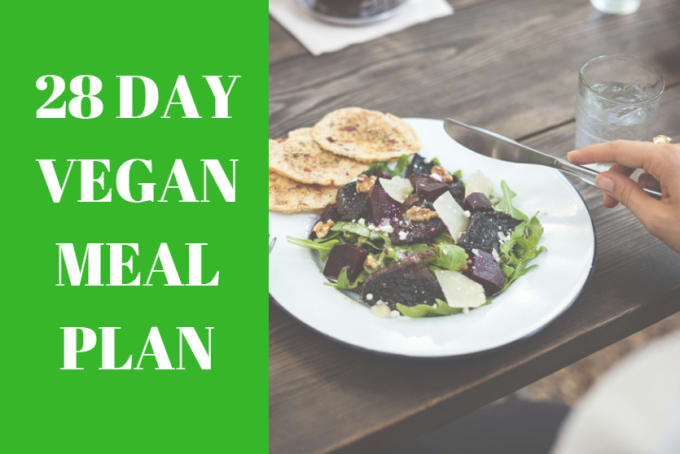 write a professional vegan meal plan by khyebaker12