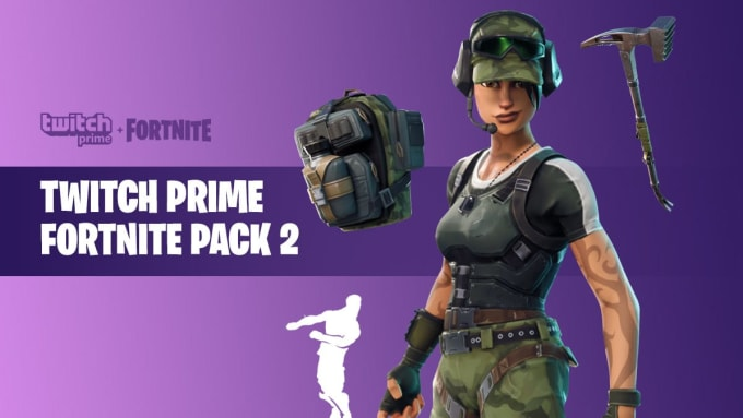 Fortnite twitch prime pack 2 claim