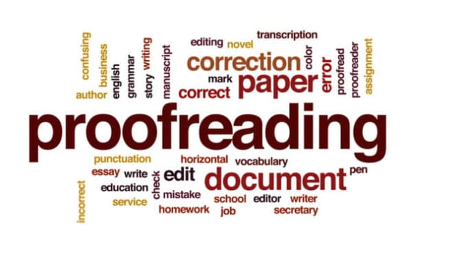 24 hour proofreading service