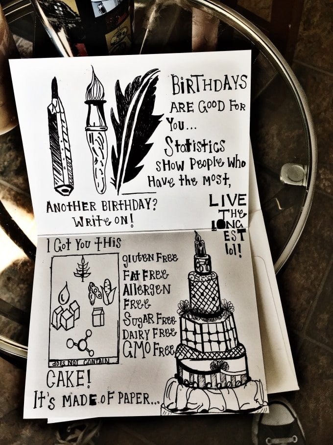 I Will Create Personalized Birthday Cards