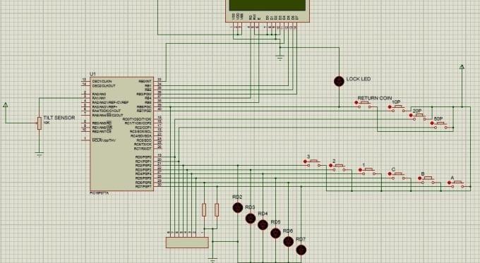 circuit design and simulation on proteus and multisim