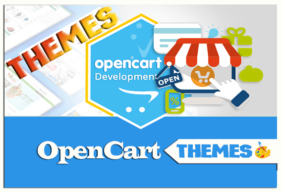 install opencart theme , chose a theme for you