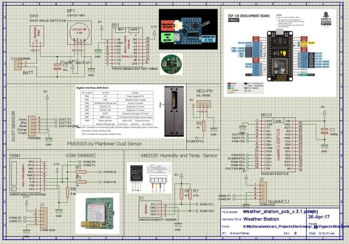 arshadpathan : I will design circuit simulation in proteus for $20 on  www fiverr com