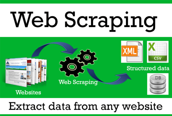 scrape any information you need from any website