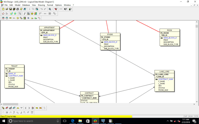 Create Mysql Database Design And Er Diagrams For You By Orockzidane