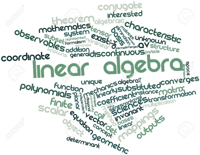 Solve different problems of linear algebra by Avalaible_24_7