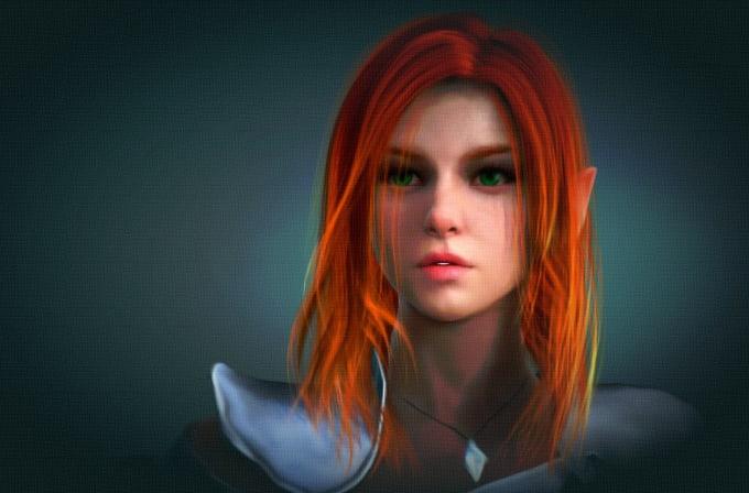 broxdale : I will make fantasy portraits, humans, elves, male dwarves only  for $10 on www fiverr com