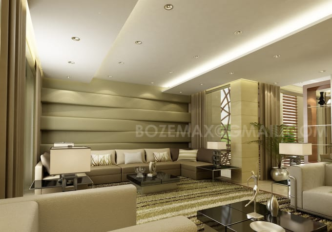 Do photo realistic 3d renderings for exterior and interiors by