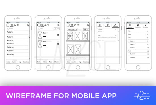 create wireframes for your ios, android or web apps