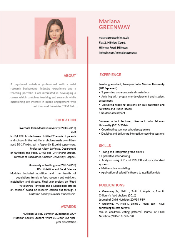 I Will Design Neat And Sleek Cv Resume Or Cover Letter