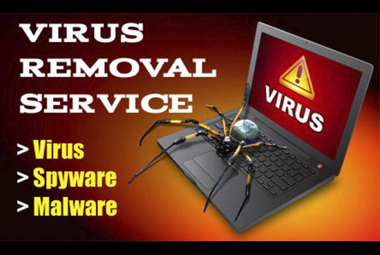remove virus on your laptop or PC