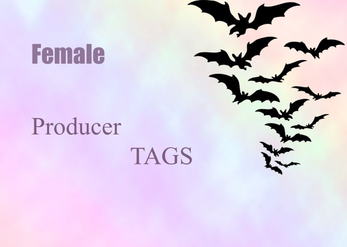 create you a female producer tag fast