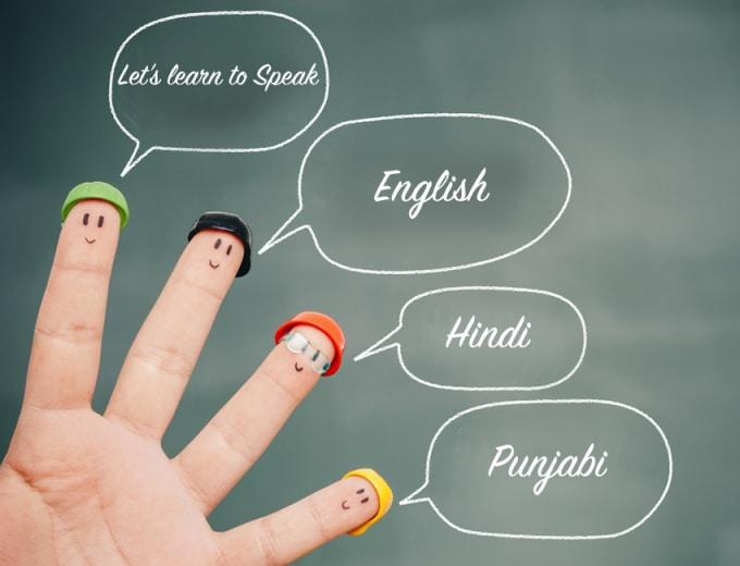 abhakathuria : I will teach spoken english, hindi, punjabi via skype for $5  on www fiverr com