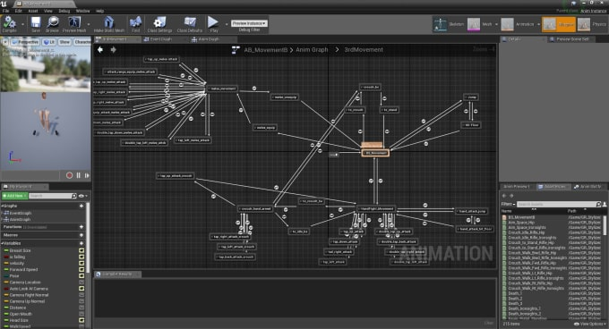 setup your animation blueprint in unreal engine 4