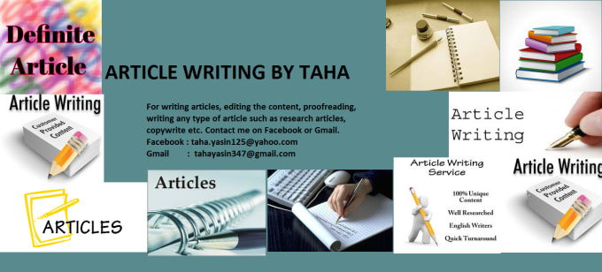 give you by writing an amazing article