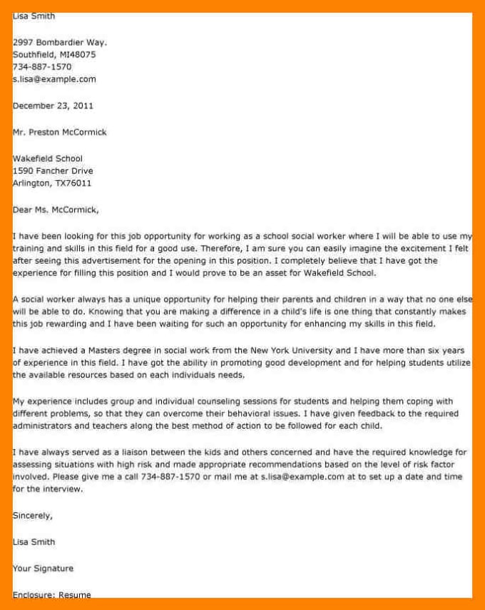 perfect resume cover letters