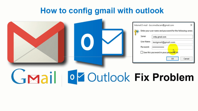 fix outlook, email server,office365 and gmail issues