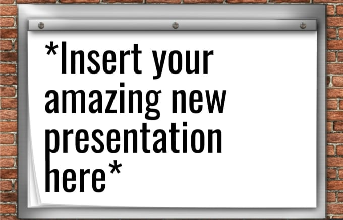 Make a presentation for anything by perfectlypets.