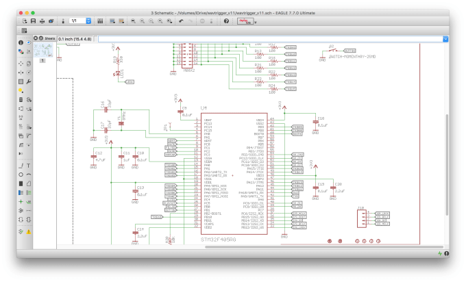 Design pcb layout and schematic using eagle by Rndint