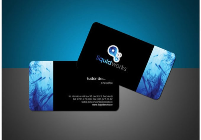 Design A Hd Business Card For You And Your Company Business By