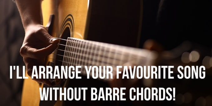Write a tab for your favorite song with no barre chords by Kraezler