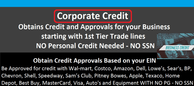 Business credit guaranteed 1st tier approval business credit approvals guaranteed 1st tier reheart Image collections
