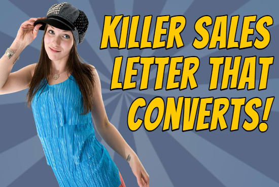 Write A Killer Sales Letter By Adcopywriting