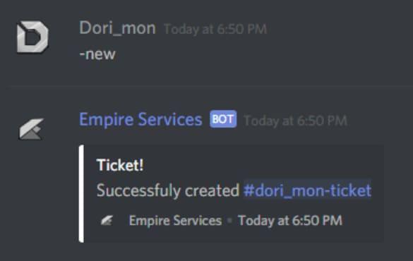 create you a custom ticket bot